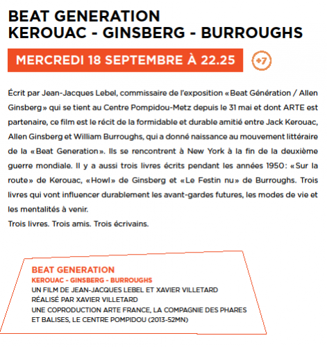 beat generation,kerouac,arte,ginsberg,burroughs