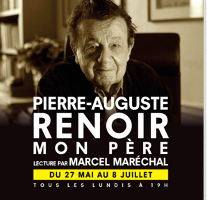 marcel maréchal,renoir,poche-montparnasse