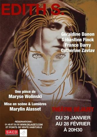 edith s,seuil,theatre dejazet,géraldine danon,sylvie ohayon,marylin alasset,maryse wolinski