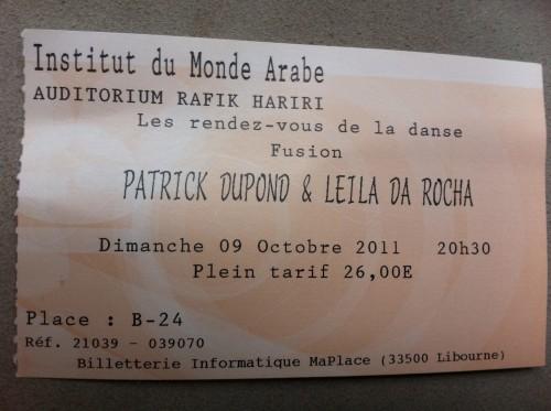 Patrick Dupond,danse,laurence caron,institut du monde arabe,danse,laurence caron