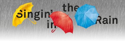 théâtre du chatelet,singin'in the rain