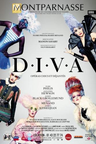 diva,théâtre montparnasse,flore philis,marie menand,alexandra hewson,jazmin black grollemund,mathilde legrand,manon savary