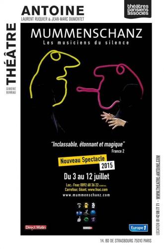mummenschanz,théâtre antoine