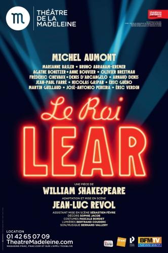 shakespeare,michel aumont,jean-luc revol,anne bouvier,marianne baslee,agathe bonitzer,jean-paul farré,bruno abraham-kremer,théâtre de la madeleine